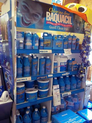 Baquacil supplies for your pool